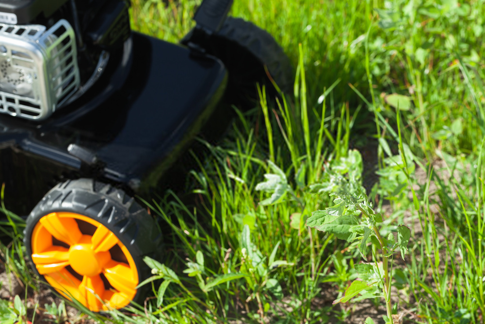 Is the Large Walk Behind Mower more comfortable than a Push Mower?